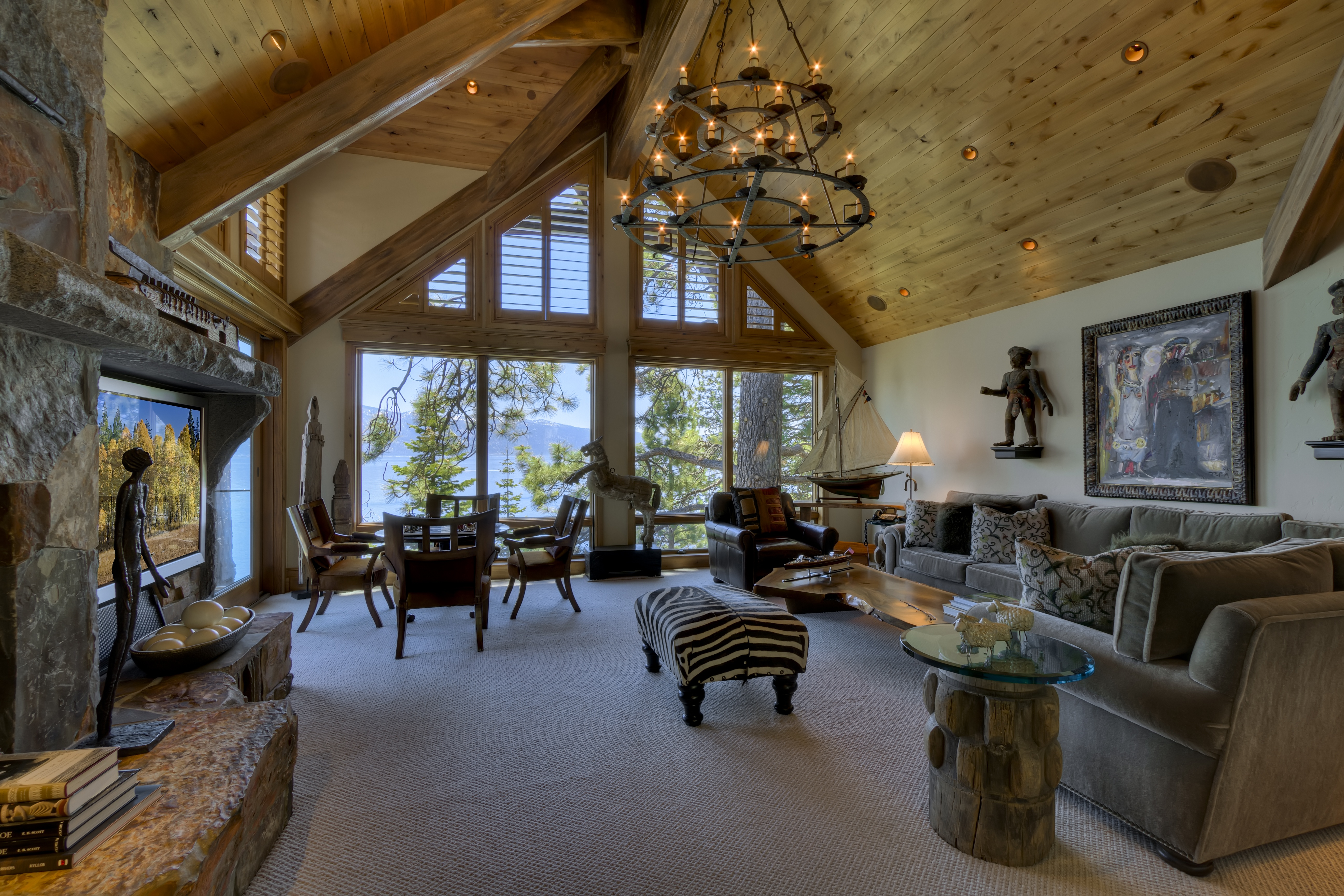 of tahoe vacation city rentals redawning cabins lake property south in rental luxury