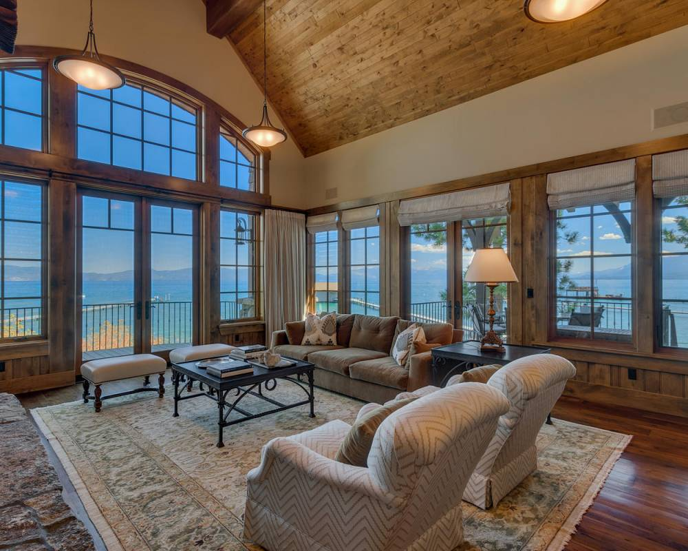 Lake Tahoe west shore lakefront home for sale