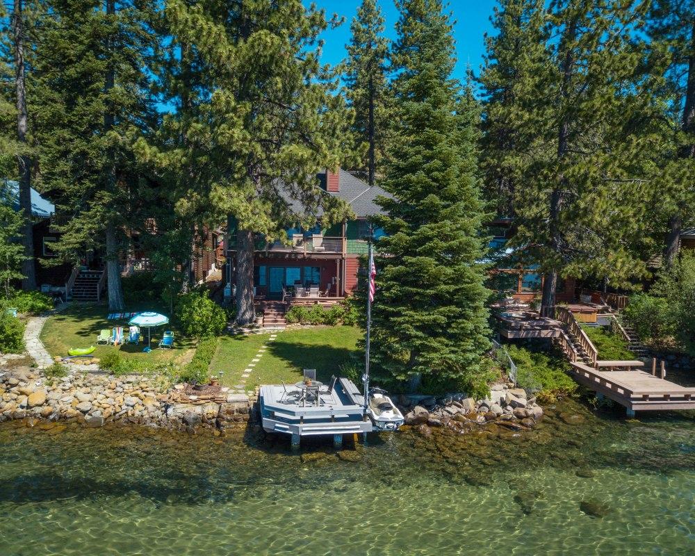 North S Retreat Lakefront 7422 Lake Boulevard Tahoe Vista Ca