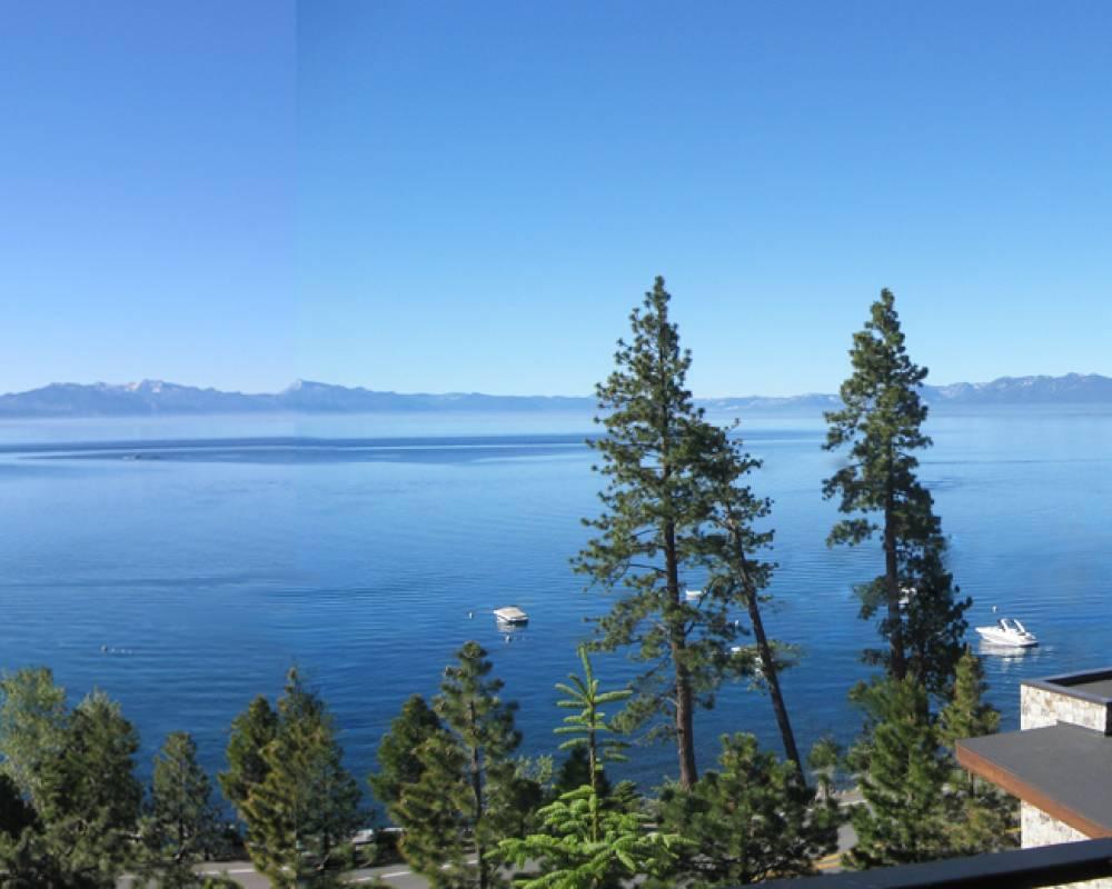 panoramic view tahoe lakefront