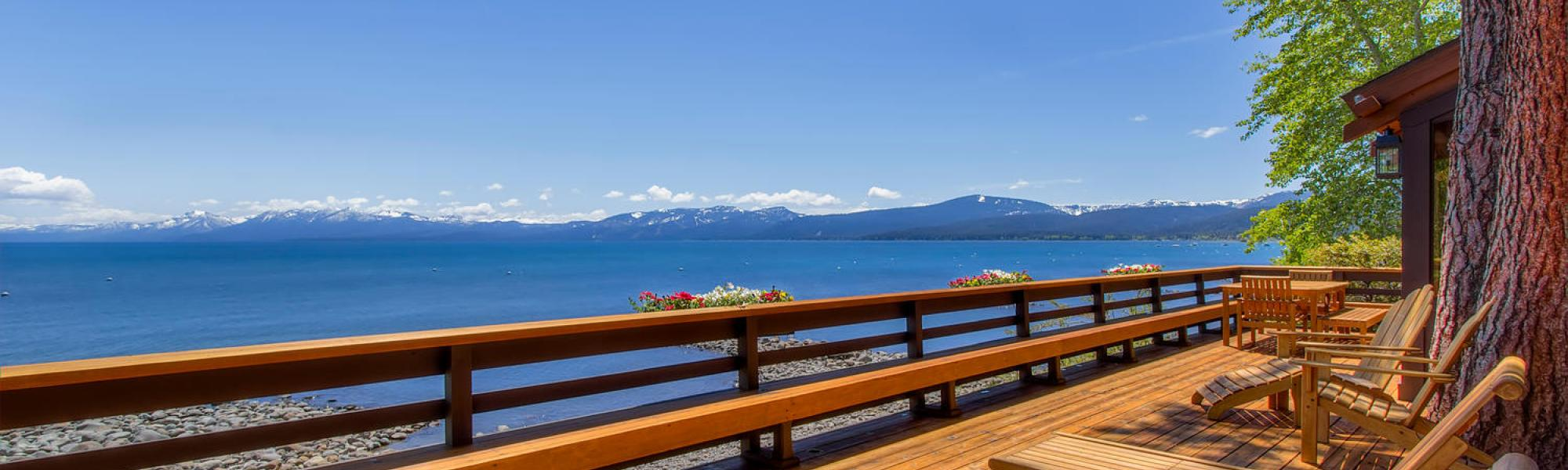 Tahoe Lakefront Home