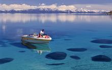 Boating Lake Tahoe