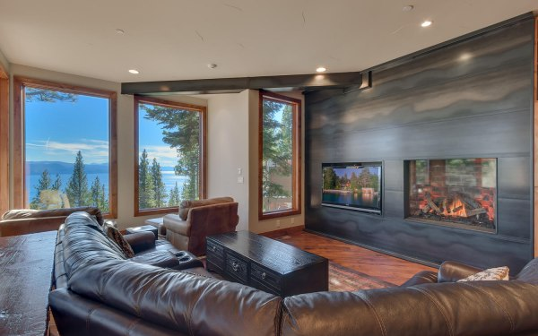 Mountain Retreat Living Room