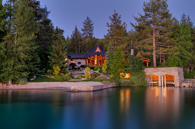 Tahoe sees highest dollar real estate sale of 2013 with for Lake tahoe home builders