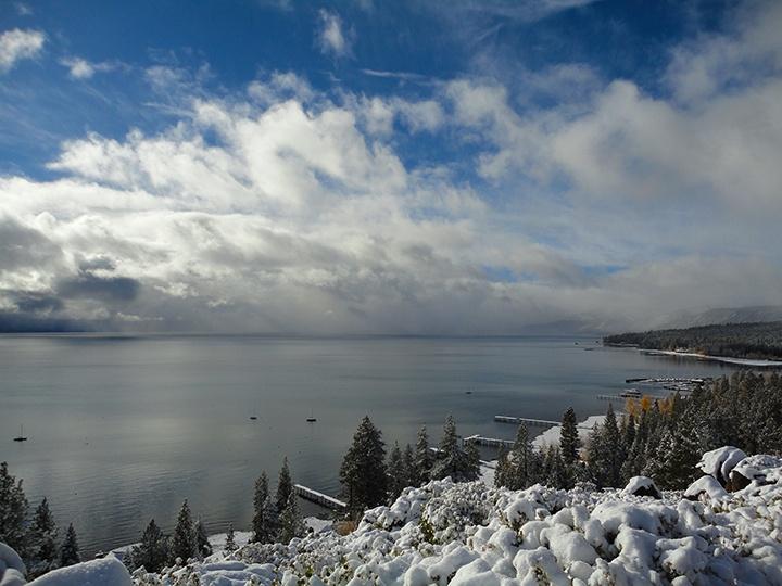 Snow storm photos of Lake Tahoe - Oct. 28, 2013 | Tahoe ...